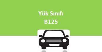 YÜK SINIFI - B 125