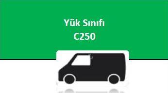 YÜK SINIFI - C 250