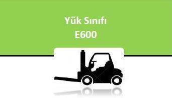 YÜK SINIFI - E 600